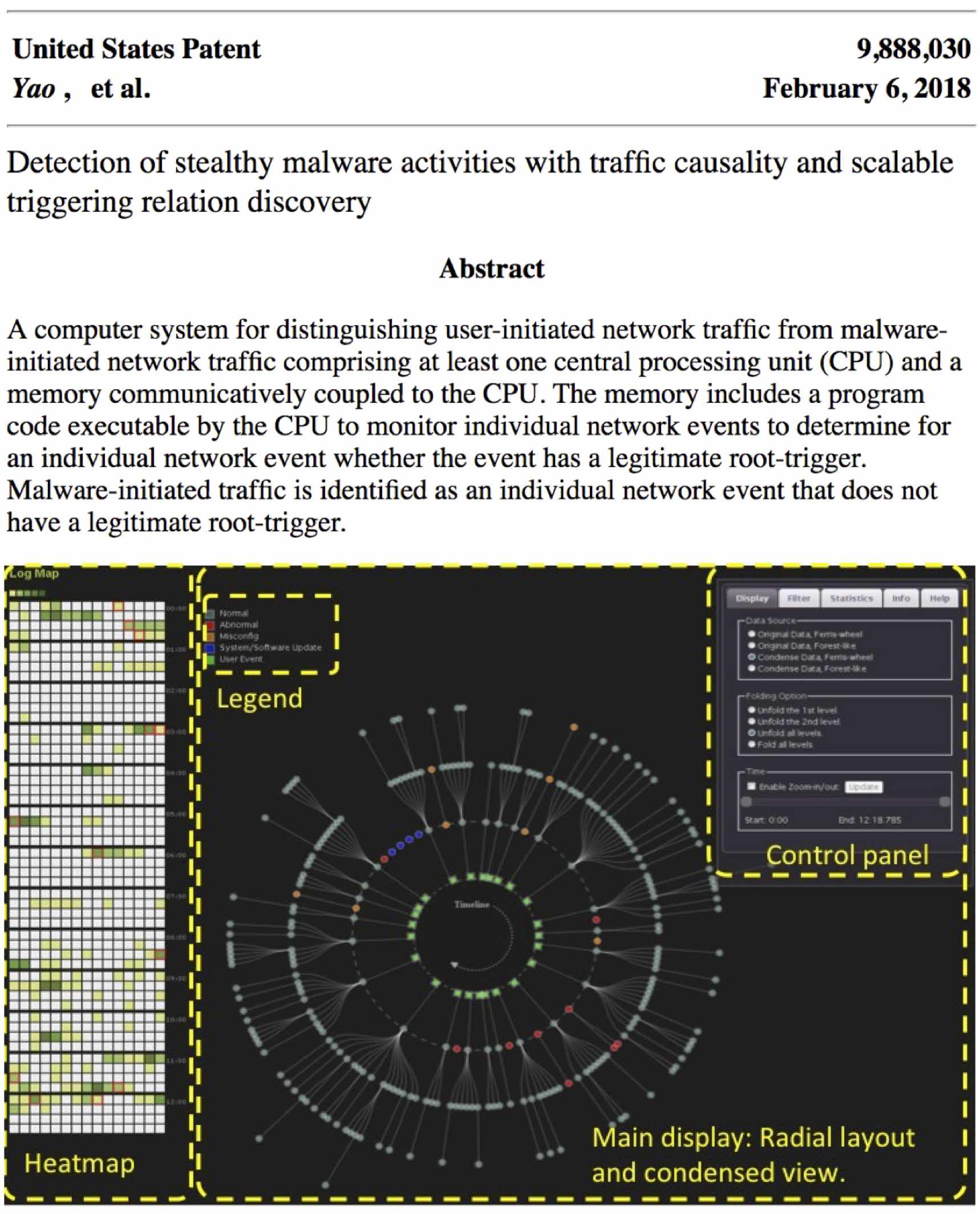 A recent US patent on network causality analysis for security.